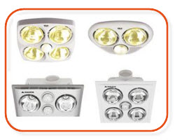 IXL, heat tastics, triumph heat lights, 3 in 1  - online electrical supplier